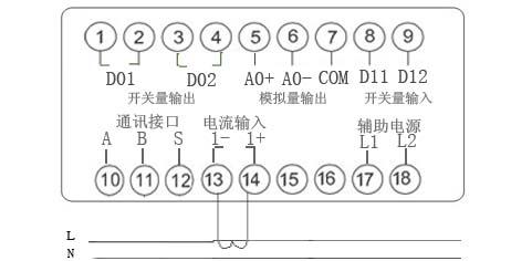 sd994ai-5k1 单相电流表