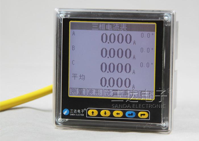 SD994AI-AK4Y 三相电流表(液晶显示)