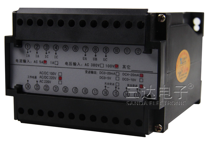 SDB-UI3 两路电流变送器