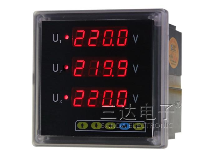 SD994AV-AK4 三相电压表