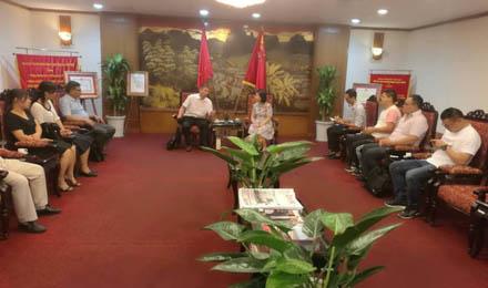 周厥忠执行会长率企业参加2017越南国际电力能源设备技术展